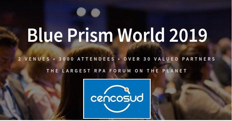 CENCOSUD finalista de los Blue Prism RPA Excellence Awards 2019