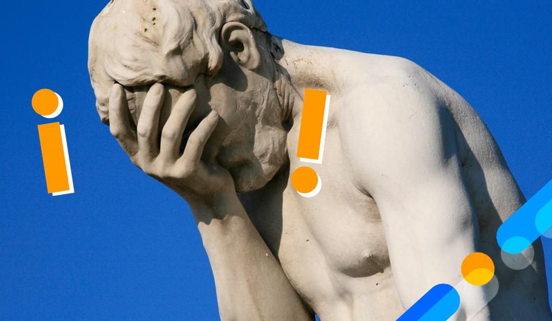7 errores comunes de un proceso de ventas
